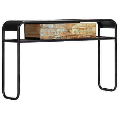vidaXL Mesa Entrada Consola Madera Reciclada Cajón Mueble Recibidor Auxiliar