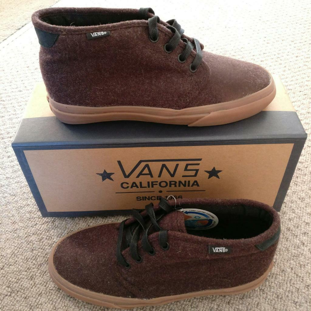 Vans Original Burgundy High Tops