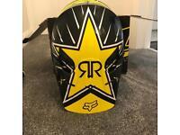 Motorcross Helmet FOX Rockstar y-m 49-50