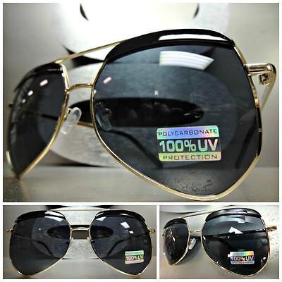 Männer oder Frauen Klassisch Retro-Stil Sonnenbrille Einzigartig Goldrahmen