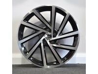19in Spielberg Style Alloy wheels & Tyres. Suit A3,VW MK5,6,7, Golf, Jetta, Passat, Seat (5x112)'