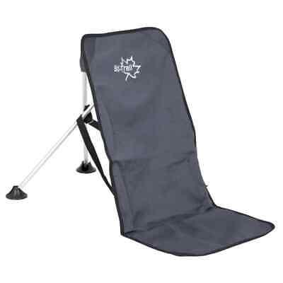 Bo-Trail Silla de Camping Aluminio Color Antracita Asiento Ajustable 1204600