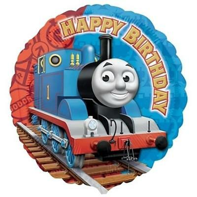 Thomas the Tank Mylar Foil Happy Birthday Balloon 18 Inch 1 Ct Party Supplies
