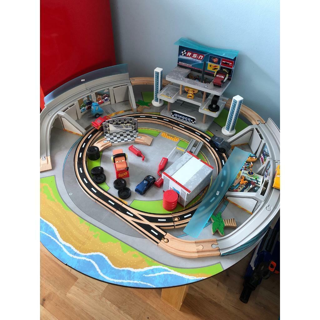 Disney Cars 3 Kidkraft Wooden Table Play Set In South Woodham Ferrers Essex Gumtree