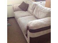 Lovely 3 seater sofa plush