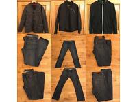 Clothes Bundle - 2 jackets Medium / Top - Medium / Jeans x2 32/32