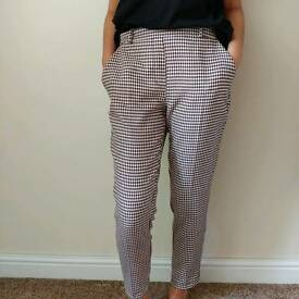 RIVER ISLAND PRINTED TROUSERS WITH POCKETS