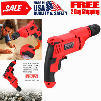 New 12sds Electric Rotary Hammer Drill Concrete Chisel Kit Universal B2