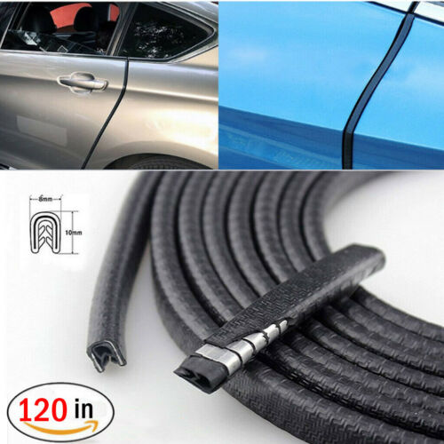 "Car Parts - 120"" Car Door Seal Strip Rubber Weatherstrip Protector Edge Trim Guard Pinchweld"