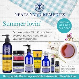Become a Neal's Yard Remedies Organic Consultant for just £45!! Limited offer!!