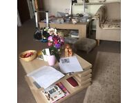 Complete 1-bed flat of contents for sale Mostly under 1 year old and lady owner. All clean /good