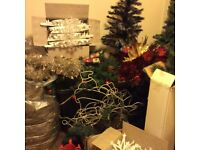 Large amount of Christmas decorations