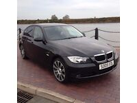 Black 2005 BMW 320I with Alloys