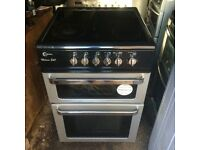 £106.00 milano grey ceramic electric cooker+60cm+3 months warranty for £106.00