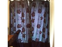 2 pairs patterned curtains for sale