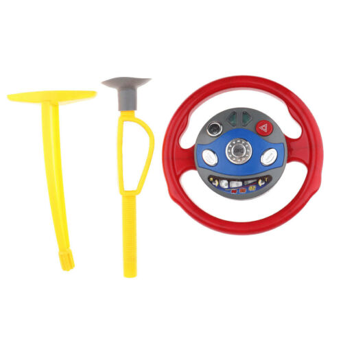 Electric Driving Steering Wheel Car Seat Toys for Baby Toddl