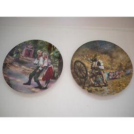 Limited Edition Charles Gehm plates by Konigszelt Bavaria - Grimms Fairytales
