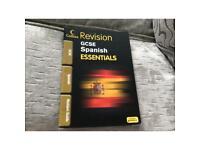 Collins GCSE Spanish essentials revision guide.