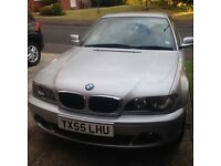 BMW 318 ES CI COUPE. ONLY 40800 MILES. 2 LITRE EX. COND