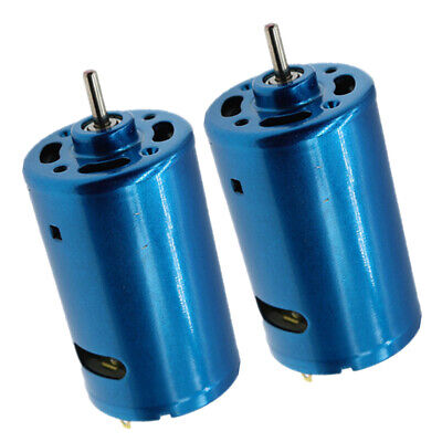 2x Large Torque Motor 12-24v 895 Motor High Power Low Noise F Speed Control