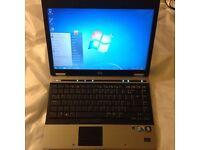 HP elitebook 6930p 500gb hd, 4gb ram, t8600 2.53GHz core2duo (fastest core2duo proc)
