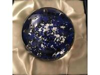 Collectable signed edition Caithness Paperweight in original box
