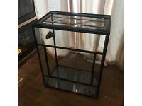Glass Reptile Enclosure/ vivarium 39.5x20x31.5 (inches)