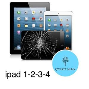Réparation tablette apple iPad 1-2-3-4 / remplacement vitre brise / iPhone 4s/5s/5c/5/6 LAVAL