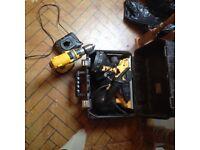 Planner dewalt 240v and drill 14.4 v