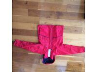 Ladies Douglas Gill Red Sailing Jacket