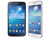 Samsung Galaxy Mega 5.8 GT-I9158 8GB Unlocked Smart Phone - wihte or black