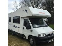Motorhome and Camper van hire South yorkshire doncaster