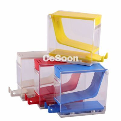Dental Cotton Paper Roll Dispenser Holder Organizer Deluxe With Pull-out Tray