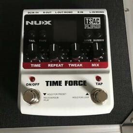 NUX Time Force Delay guitar pedal