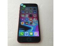 APPLE IPHONE 8 64GB RED UNLOCKED TO ALL NETWORKS WITH RECEIPT