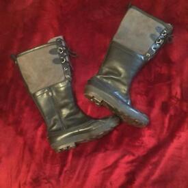 UGG long black boots