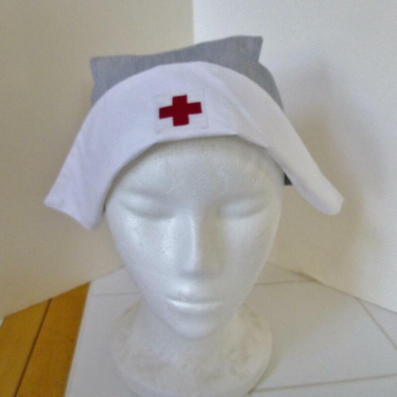 Original American Red Cross ARC Nurse Cap Hat