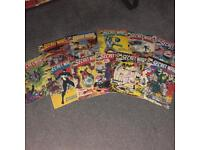 Marvel & DC comic book collection x60