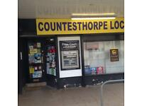 Off license and news agent for sale
