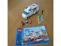 Lego City Ambulance set VERY RARE 4431