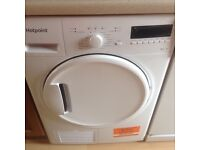 Hot point condenser tumble dryer.