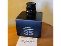 Fuji 35mm F2 WR