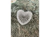 Love heart glass