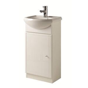 jasmine 450mm white under sink cabinet with sink by roper