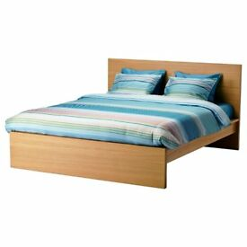 Malm double IKEA bed - No mattress