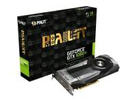 Nvidia Palit 1080 ti graphics card