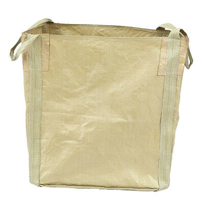 2.5t FIBC Bulk Bag Builders Bag Waste Rubble Storage Sack w/ Handles Yellow