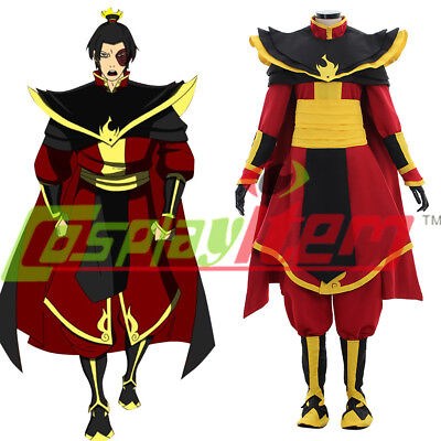 Avatar The Last Airbender Prince Zuko Azula Cosplay Costume Adult Halloween
