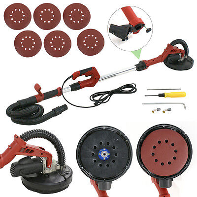 710w Drywall Sander Electric Sanding Tool Dry Wall Pads Kit Foldable Sander
