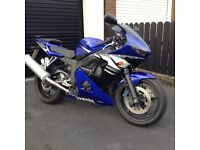 Yamaha R6 in beautiful condition.One owner from new.